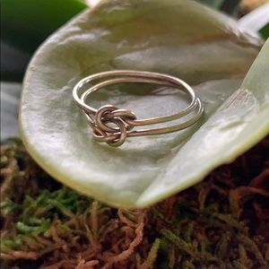 Jewelry - Sterling Silver Celtic Knot Ring!
